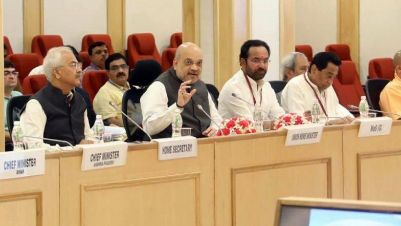 Amit Shah Review Meeting On LWE: 'నక్సల్స్ ఎరివేత' అంశంపై రాష్ట్రాల ముఖ్యమంత్రులతో కేంద్ర హోంశాఖ మంత్రి అమిత్ షా కీలక సమావేశం. తెలంగాణ సీఎం కేసీఆర్ గైర్హాజరు.