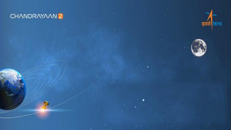 Chandrayaan 2: భూకక్ష్యను వీడిన చంద్రయాణ్-2, మరో వారం రోజుల్లోనే చంద్రుని కక్ష్యలోకి ప్రవేశం. జాబిల్లి వైపు దూసుకుపోతున్న వ్యోమనౌక.