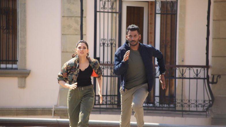 Tamannah Looks Super Hot In Vishals Action Movie: పిచ్చెక్కిస్తున్న తమన్నా కొత్త లుక్