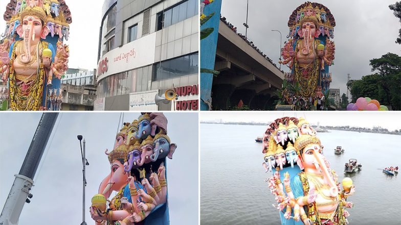 Traffic Restrictions in Hyderabad: హైదరాబాద్లో 24 గంటల పాటు ట్రాఫిక్ ఆంక్షలు, గణేష్ నిమజ్జనానికి ముస్తాబైన ట్యాంక్బండ్, ట్రాఫిక్ ఆంక్షల పూర్తి సమాచారం తెలుసుకుందాం