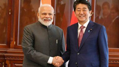 Modi Meets Abe: రష్యాలో జపాన్ ప్రధానితో భేటి అయిన భారత ప్రధాని నరేంద్ర మోదీ. ఇండియా మరియు జపాన్ దేశాల మధ్య ద్వైపాక్షిక సంబంధాలు బలపరుస్తామని ఇరుదేశాల ప్రధానుల ప్రతిజ్ఞ.