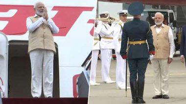 PM Modi Visists Russia: రష్యా చేరుకున్న ప్రధాని నరేంద్ర మోదీ, ఇక్కడ  మూడు రోజుల పర్యటన. ఈరోజు  రష్యా అధ్యక్షుడు వ్లాదిమిర్ పుతిన్తో సమావేశం.
