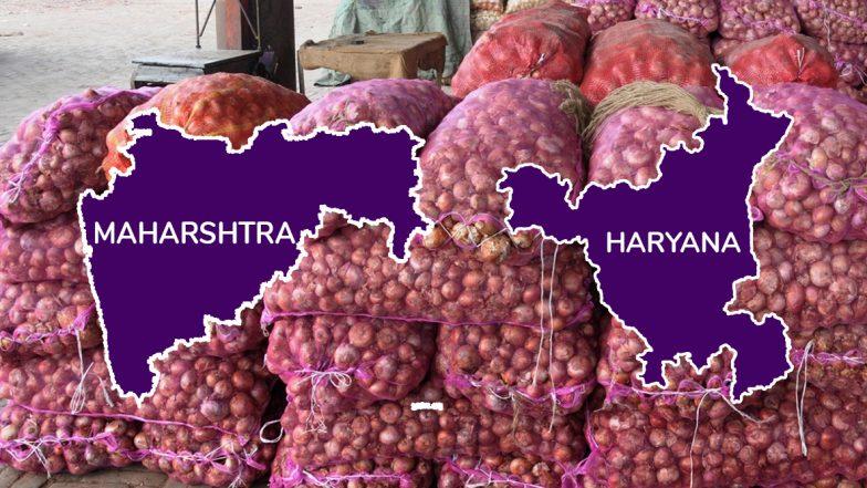 Onion Bomb In MH & HR Elections: మహారాష్ట్ర, హర్యానా ఎన్నికల్లో పేలనున్నఉల్లిబాంబు, సెంచరీ దిశగా ఆనియన్స్ ధరలు, ఈ స్థాయికి చేరడం నాలుగేళ్లలో ఇదే తొలిసారి, తక్షణ చర్యలకు ఉపక్రమించిన కేంద్ర ప్రభుత్వం