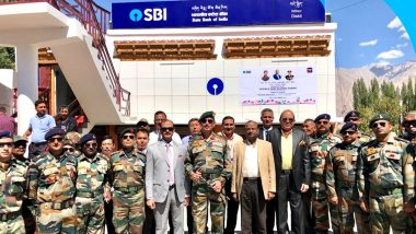 SBI Ladakh Branch : ఆర్టికల్ 370 రద్దు తర్వాత ఎస్బీఐ సాహసం, కాశ్మీరీల కోసం లడఖ్లో బ్రాంచీ ఏర్పాటు, 10వేల 400 అడుగుల ఎత్తున కార్యకలాపాలు ప్రారంభం