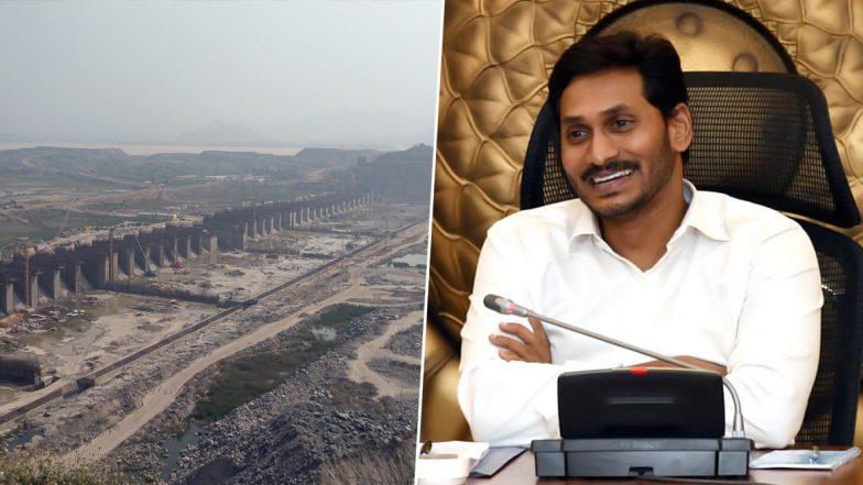 Polavaram Project Mission @2021: పోలవరం పనులు తిరిగి ప్రారంభం, భూమి పూజ చేసిన మేఘా సంస్థ ప్రతినిధులు, 2021 కల్లా ప్రాజెక్ట్ పూర్తి చేయాలన్న ఏపీ సీఎం జగన్, తగ్గిన గోదావరి నీటి మట్టం
