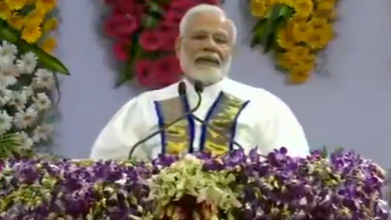 PM Modi In Chennai: తమిళ భాషపై మోడీ పొగడ్తల వర్షం, అమిత్ షా ''హిందీ ''వ్యాఖ్యలు చల్లార్చడానికేనా ? హౌడీ మోడీలో తమిళం మారుమోగిందంటూ ప్రశంసలు, దక్షిణాదిన మోగుతున్న నమో నినాదాలు, చెన్నైలో ఘన స్వాగతం పలికిన బిజెపి శ్రేణులు