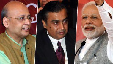 Singhvi Attacks Jio: లాలీపాప్ ఎంత పెద్దదైనా చివరకు ఏదీ ఉచితం కాదు, మోడీ సర్కార్ది కూడా అదే పరిస్థితి ! ట్విట్టర్ వేదికగా బిజెపి, జియోపై సెటైర్లు వేసిన కాంగ్రెస్ నేత అభిషేక్ మను సింఘ్వీ
