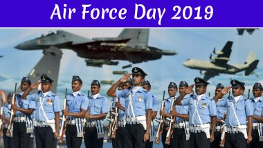 Air Force Day 2019:  అభినందన్ పైనే అందరి కళ్లు, కన్నులపండువగా భారత వాయుసేన 87వ వార్షికోత్సవం, శుభాకాంక్షలు తెలిపిన ప్రధాని మోడీ, హోమంత్రి రాజనాథ్ సింగ్, వైమానిక విన్యాసాలతో దుమ్మురేపిన భారత వైమానిక దళం