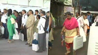 Polling Day 2019: నేడే పోలింగ్, అన్ని ఏర్పాట్లు పూర్తి చేసిన ఎన్నికల కమిషన్, పోలింగ్ బూత్ల దగ్గర 144 సెక్షన్, ఉదయం 7గంటలకే పోలింగ్ ప్రారంభం, ఈ నెల 24న ఫలితాలు విడుదల