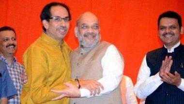 MH Elections 2019: మహారాష్ట్రలో ఎగిరేది మళ్ళీ కాషాయ జెండానే! ఓపీనియన్ పోల్ ఫలితాలను వెల్లడించిన సీ-ఓటర్ సర్వే,  బిజేపీ- శివ్ సేన పార్టీలకు అత్యధిక సీట్లు, కాంగ్రెస్ వరుసగా రెండోసారి ప్రతిపక్ష స్థానానికే పరిమితమవుతుందన్న సర్వే