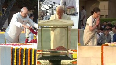 Gandhi Jayanti 2019: గాంధీజీ 150 జయంతి ఉత్సవాలు, దేశవ్యాప్తంగా 'మహత్మునికి' ఘనమైన నివాళి , రాజ్ ఘాట్ వద్ద నివాళులు అర్పించిన రాష్ట్ర పతి రామ్నాథ్ కోవింద్, ప్రధాని నరేంద్ర మోదీ