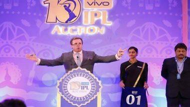 IPL 2020 Auction: ఆటగాళ్ల కొనుగోలుకు సర్వం సిద్ధం, కలకత్తా వేదికగా డిసెంబర్ 19న వేలం, రూ. 85 కోట్లతోనే జట్టును తయారుచేసుకోవాలన్న బిసిసిఐ, ఫ్రాంఛైజీల వద్ద మిగిలి ఉన్న నగదు వివరాలు ఇవే