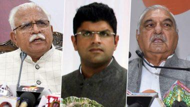 Haryana Election results 2019: కీలకంగా మారనున్న స్వతంత్రులు, సీఎం సీటు రేసులో దుష్యంత్ చౌహాలా, ఆచితూచి అడుగులు వేస్తున్న బీజేపీ, జేజేపీకి సీఎం సీటు ఇవ్వడానికి సై అంటున్న కాంగ్రెస్