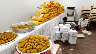 BJP Celebrations: ఫలితాలు వెలువడక ముందే బీజేపీ సంబరాలు, పూలదండలు, లడ్డులకు ఆర్డర్, ఎన్నికల ఫలితాలు వీక్షించడానికి ముంబై ఆఫీసులో భారీ స్క్రీన్ ఏర్పాటు, సర్వేలన్నీ అటువైపై మొగ్గు