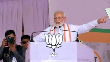 PM Modi Challenge: ఆర్టికల్ 370ని మీ ఎన్నికల మేనిఫెస్టోలో పెట్టగలరా? ప్రతిపక్షాలకు సవాల్ విసిరిన ప్రధాని మోడీ, మహారాష్ట్రలో ఊపందుకున్న రాజకీయం