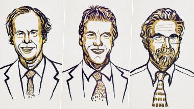 Nobel Prize 2019: వైద్యరంగంలో ఈ ఏడాది ముగ్గురికి నోబుల్ ప్రైజ్, ముగ్గురిని కలిపి సంయుక్త విజేతలుగా ప్రకటన, ఆ ముగ్గురు ఎవరు మరియు దేనిపైన పరిశోధనలు జరిపారో తెలుసుకోండి