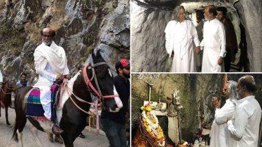 Rajinikanth Sudden Trip: మళ్లీ హిమాలయాలకు వెళ్లిన  తలైవార్, 10 రోజులు అక్కడే, షూటింగ్ పూర్తి చేసుకున్న దర్బార్, సోషల్ మీడియాలో ట్రెండ్ అవుతున్న రజినీకాంత్ ఫోటోలు