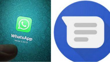 SMS App New Version: వాట్సప్ని సవాల్ చేయనున్న ఎసెమ్మెస్ యాప్, సరికొత్త హంగులతో ముందుకు, సెక్యూరిటీకి అత్యంత పెద్ద పీఠ, రిచ్ కమ్యూనికేషన్ సర్వీసెస్ ఆధారిత మెసేజింగ్ వ్యవస్థకు శ్రీకారం