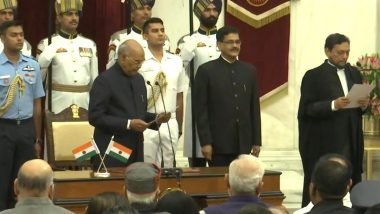Chief Justice of India: భారత ప్రధాన న్యాయమూర్తిగా ప్రమాణ స్వీకారం చేసిన జస్టిస్ శరద్ అరవింద్ బొబ్డే,  దేశంలో అత్యంత సీనియర్ న్యాయమూర్తిగా బొబ్డేకు గుర్తింపు