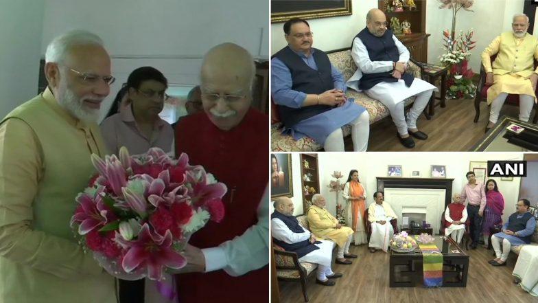 Happy Birthday LK Advani: 93వ వడిలోకి అడుగుపెట్టిన బీజేపీ సహ వ్యవస్థాపకుడు, అద్వానీకి శుభాకాంక్షలు తెలిపిన ప్రధాని మోడీ, ఇతర ప్రముఖులు, రథయాత్రతో బీజేపీని పరుగులు పెట్టించిన బీజేపీ సీనియర్ నేత..