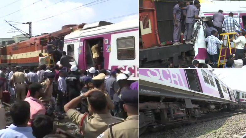 MMTS Train Crash: కాచిగూడ ఎంఎంటీఎస్ ప్రమాద ఘటనలో ఇంకా క్యాబిన్లోనే ఉండి పోయిన లోకో పైలట్, బయటకు తీసేందుకు విశ్వ ప్రయత్నాలు చేస్తున్న రెస్క్యూ సిబ్బంది, సురక్షితంగానే ఉన్నాడంటున్న అధికారులు