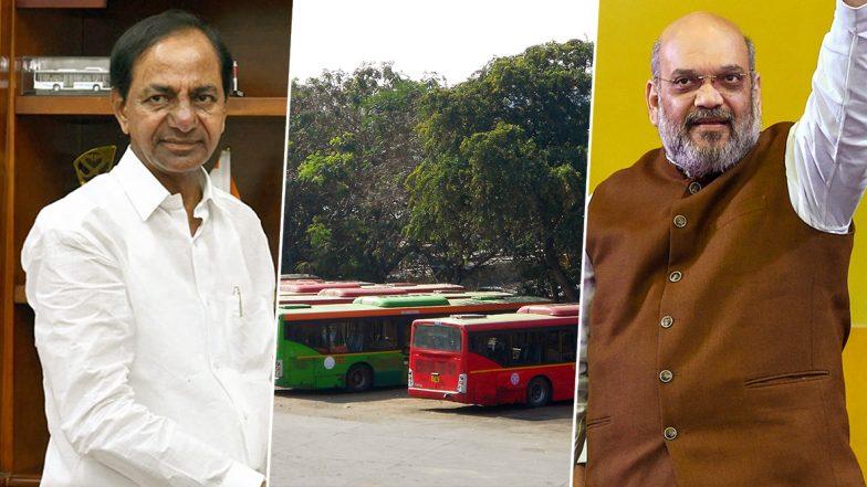 RTC JAC To Meet Amit Shah: ఆర్టీసీ సమ్మెలో మరో కీలక మలుపు, అమిత్ షాను కలవనున్న ఆర్టీసీ జేఏసీ కన్వీనర్ అశ్వత్థామరెడ్డి , భవిష్యత్ కార్యాచరణ ప్రకటించిన ఆర్టీసీ జేఏసీ, ఆర్టీసీ సమ్మెపై సీఎం కేసీఆర్ అధికారులతో సమీక్ష