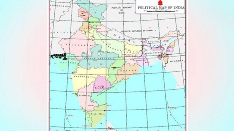 Political Map of India: భారతదేశ నూతన చిత్రపటం చూశారా? ఇక మీదట ఈ సరికొత్త రాజకీయ చిత్రపటాన్నే ఉపయోగించాలని అడ్వైజరీ జారీ చేసిన కేంద్ర ప్రభుత్వం