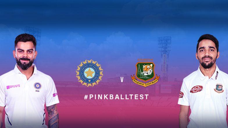 Pink Ball Test Day-Night: ఈడెన్ గార్డెన్స్లో విరబూసిన గులాబీ, భారత క్రికెట్లో చారిత్రాత్మక ఘట్టం, తొలిసారి డే-నైట్ టెస్టుకు వేదికైన కోల్కతా, ప్రేక్షకులతో పూర్తిగా నిండిపోయిన స్టేడియం