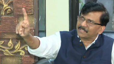 MP Sanjay Raut: మహారాష్ట్రలో రాష్ట్రపతి పాలన అంశంపై మండిపడిన సంజయ్ రౌత్, కేంద్రం మంటల్లో కాలిపోక తప్పదని ఘాటు వ్యాఖ్యలు, ప్రకంపనలు రేపుతున్న హోం మంత్రి రూ.100 కోట్ల అవినీతి ఆరోపణలు