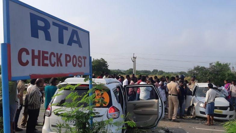 Car Accident In krishna : కృష్ణా జిల్లాలో ఘోర రోడ్డు ప్రమాదం, నలుగురు మృతి, మరికొందరికీ గాయాలు, అతివేగమే ప్రమాదానికి కారణం, హైదరాబాద్ నుంచి విజయవాడ వెళుతున్న సమయంలో ప్రమాదం