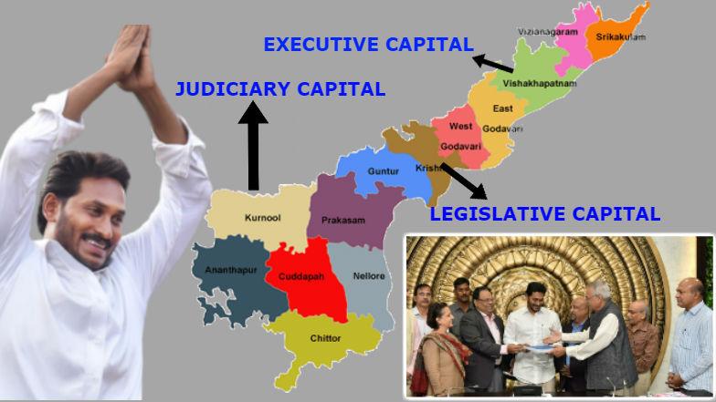 AP Decentralisation Bill: మూడు రాజధానులకు సై, రాజధాని వికేంద్రీకరణ బిల్లు, సీఆర్డీఏ రద్దు బిల్లుకు ఆమోదం తెలిపిన గవర్నర్ బిశ్వభూషణ్ హరిచందన్