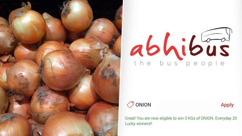 AbhiBus Bumper Offer: బంపరాఫర్ ఇస్తున్న అభిబస్, టికెట్ బుక్ చూస్తే 3 కేజీల ఉల్లి ఉచితం, గోవా ట్రిప్ బుక్ చేసుకున్న వారికి మాత్రమే, డీల్ ఆఫ్ ది ఇయర్ అంటున్న అభిబస్