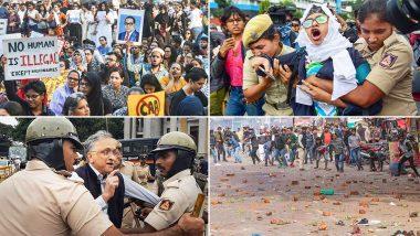 Anti- CAA Protests: నిరసనలతో అట్టుడుకుతున్న భారతదేశం, నిరసనకారుల మధ్య అల్లరిమూకలు, తీవ్ర హింసాత్మకమవుతున 'పౌరసత్వ' ఆందోళనలు, మంగళూరులో జరిపిన కాల్పుల్లో ఇద్దరు నిరసనకారుల మృతి, దేశవ్యాప్తంగా ఉద్రిక్త పరిస్థితులు