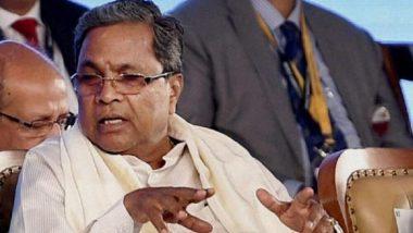 Siddaramaiah Resigns: కర్ణాటకలో విరబూసిన కమలం, ఓటమికి నైతిక బాధ్యత వహిస్తూ సిద్దరామయ్య రాజీనామా, 12 స్థానాల్లో బీజేపీ విజయం, రెండు స్థానాలకు పరిమితమైన కాంగ్రెస్, స్వతంత్ర అభ్యర్థి ఒక చోట విజయం