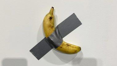 Duct-Taped Banana: ఈ అరటి పండు ధర రూ.85 లక్షలు, రెండు అరటి పండ్లను కొనుగోలు చేసిన అమెరికన్, ఇంతకీ ఏముంది ఈ పండులో..