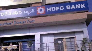 HDFC Bank Network Down: హెచ్డీఎఫ్సీ బ్యాంకు నెట్వర్క్ డౌన్, నెట్ బ్యాకింగ్, మొబైల్ యాప్లో సాంకేతిక సమస్యలు, ట్విట్టర్ వేదికగా ఫిర్యాదులు చేస్తున్న కస్టమర్లు, సమస్య పరిష్కారానికి కృషి చేస్తున్నామని తెలిపిన బ్యాంక్