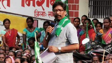 Jharkhand Exit Polls 2019: బీజేపీకి షాకిస్తున్న ఎగ్జిట్ పోల్స్, జార్ఖండ్లో కాంగ్రెస్ కూటమిదే అధికారం, డిసెంబర్ 23న ఫలితాలు, హంగ్ వచ్చే అవకాశం ఉందంటున్న ఐఏఎన్ఎస్-సీ ఓటర్ సర్వే