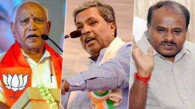 Karnataka Bypoll Results 2019: ఉత్కంఠ రేపుతున్న కర్ణాటక ఉప ఎన్నికల ఫలితాలు, ఊపిరి పీల్చుకునే దిశగా బీజేపీ, సిట్టింగ్ స్థానాలను కోల్పోయే దిశగా కాంగ్రెస్, జేడీఎస్, 10 స్థానాల్లో బీజేపీ లీడింగ్