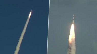 ISRO RISAT-2BR1: పిఎస్ఎల్వి-సి 48 ప్రయోగం విజయవంతం, భారత గూఢాచార వ్యవస్థను పటిష్ఠ పరిచే అధునాతన ఉపగ్రహహం రిసాట్ -2 బిఆర్1తో పాటు, 9 విదేశీ ఉపగ్రహాలను నిర్దేశిత కక్ష్యలో ప్రవేశపెట్టిన ఇస్రో