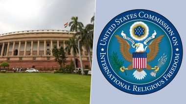 US Commission On CAB 2019: పౌరసత్వ సవరణ బిల్లుపై యూఎస్ ఫెడరల్ కమీషన్ ఆందోళన, అమిత్ షా సహా భారత అగ్ర నాయకత్వంపై అమెరికా ఆంక్షలు విధించే అంశాన్ని పరిశీలించాలని సూచన