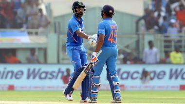 Ind vs WI 2nd ODI: చెలరేగిన భారత ఓపెనర్లు, సెంచరీలు నమోదు చేసిన రోహిత్ శర్మ- కేఎల్ రాహుల్, తొలి వికెట్కు 200 పరుగుల భాగస్వామ్యం, భారీస్కోర్ దిశగా భారత్