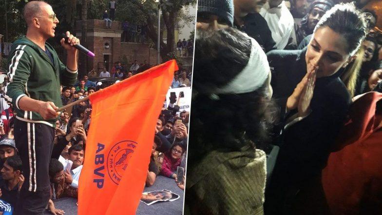 Deepika Padukone: ఢిల్లీ జేఎన్యూలో దీపికా పదుకొనె, జేఎన్యూ విద్యార్థులకు సంపూర్ణ మద్దతు, 15 నిమిషాలపాటు విద్యార్థులతో గడిపిన బాలీవుడ్ ముద్దుగుమ్మ, మండిపడుతున్న బీజేపీ నేతలు, ఆమె సినిమాలు బహిష్కరించాలని పిలుపు