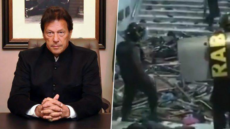 Imran Khan Fake Propaganda: ఫేక్ వీడియో పోస్ట్ చేసి దొరికిపోయిన పాక్ ప్రధాని, ముస్లింలపై భారత పోలీసులు హింసకు పాల్పడుతున్నారని ట్వీట్, నిజనిర్ధారణలో ఆ వీడియో బంగ్లాదేశ్కు చెందినదని తేలింది