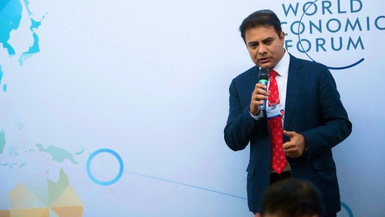 WEF 2020: ప్రపంచ ఆర్థిక ఫోరం సదస్సులో కేటీఆర్, దావోస్లో తెలంగాణ మంత్రికి అరుదైన గౌరవం, రాష్ట్రంలో పెట్టుబడుల కోసం గ్లోబల్ బిజినెస్ లీడర్లకు మంత్రి ఆహ్వానం