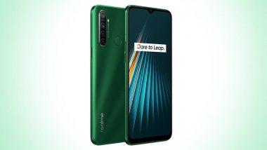 Realme 5i Smartphone: బడ్జెట్ ధరలో రియల్మి 5ఐ స్మార్ట్ఫోన్ భారత్లో విడుదల, దీని ధర మరియు ఇతర విశేషాలు ఇలా ఉన్నాయి