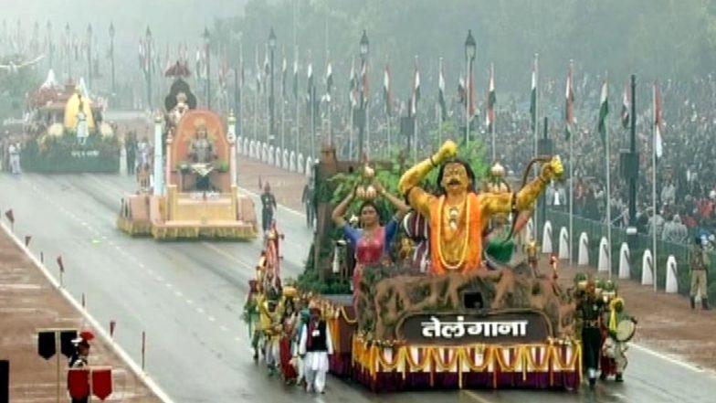 Republic Day Parade 2020: రిపబ్లిక్ శకటాలపై రాజకీయం, పరేడ్లో చోటు దక్కకపోవడంపై పలు రాష్ట్రాలు కేంద్ర ప్రభుత్వంపై ధ్వజం, గణతంత్ర దినోత్సవం పరేడ్లో అలరించనున్న శకటాలు ఇవే