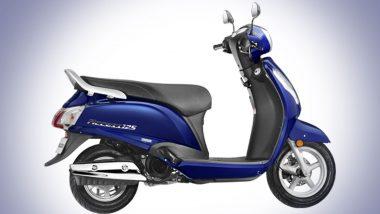 Suzuki Access 125 BS6: సుజుకి యాక్సెస్ 125  బిఎస్ 6 వెర్షన్ భారత మార్కెట్లో విడుదల, దిల్లీ ఎక్స్ షోరూంలో రూ. 64 వేల నుంచి ధరల ప్రారంభం, హోండా యాక్టివా మరియు యమహా ఫాసినో స్కూటర్లతో పోటీ