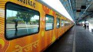 Tejas Express: గంటకు 200 కిలోమీటర్ల వేగం, రైలు గంట ఆలస్యంగా వస్తే ప్రయాణికులకు రూ.100, రైల్వే ప్రయాణికులకు రూ.25 లక్షల ఉచిత బీమా, 60 రోజుల ముందుగా రిజర్వేషన్ చేసుకోవాలి, ప్రారంభమైన తేజస్ ఎక్స్ప్రెస్