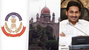 Jagan Assets Case: సీబీఐ కేసులో తెలంగాణా హైకోర్టుకు ఏపీ సీఎం, పూర్తి వివరాలతో కౌంటర్ దాఖలు చేయాలని సీబీఐని ఆదేశించిన తెలంగాణా హైకోర్టు,తదుపరి విచారణ ఫిబ్రవరి 6కు వాయిదా