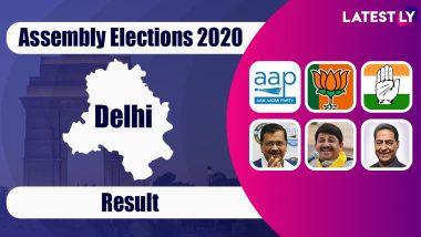 Delhi Assembly Elections 2020 Results: దిల్లీ అసెంబ్లీ ఫలితాల్లో మారుతున్న ట్రెండ్స్ , ఆమ్ ఆద్మీ పార్టీ- బీజేపీ మధ్య హోరాహోరీ, మెజారిటీ స్థానాల్లో ఆప్ లీడింగ్, ఇప్పటికీ ధీమాగా ఉన్న బీజేపీ